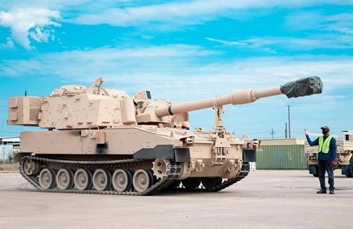 Tình hình chiến sự Syria mới nhất ngày 21/8: Mỹ có thêm siêu đại pháo tầm bắn 100km - Ảnh 1