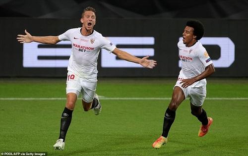Ngược dòng hạ Inter Milan, Sevilla lần thứ 6 vô địch Europa League - Ảnh 2
