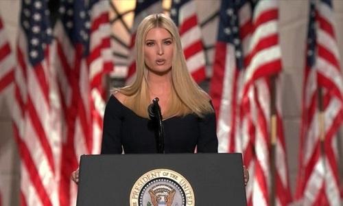 Ông Trump nói con gái lớn xứng đáng làm nữ tổng thống Mỹ đầu tiên - Ảnh 2