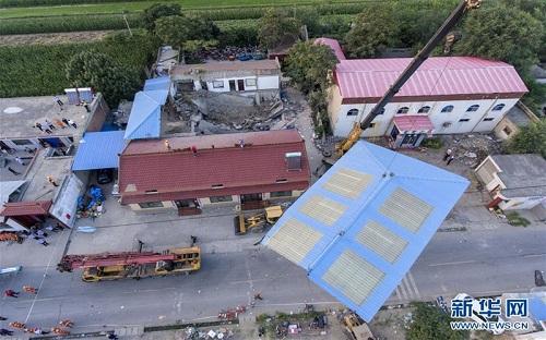 Vụ sập nhà hàng kinh hoàng tại Trung Quốc: 29 người thiệt mạng - Ảnh 2
