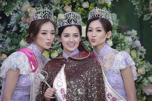 """Nhan sắc say đắm của """"bông hồng lai"""" vừa đăng quang Hoa hậu Hong Kong 2020 - Ảnh 1"""