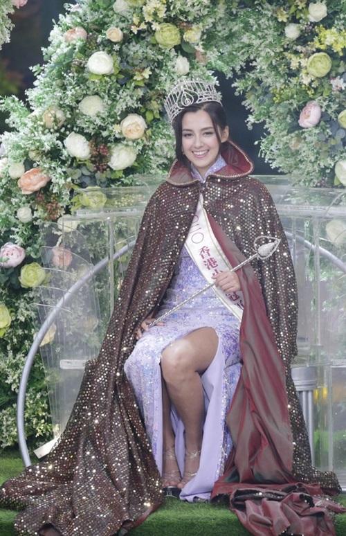 """Nhan sắc say đắm của """"bông hồng lai"""" vừa đăng quang Hoa hậu Hong Kong 2020 - Ảnh 2"""