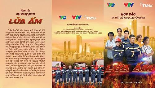 """Lửa ấm: Bộ phim Việt Nam đầu tiên """"đặc tả"""" về lính cứu hỏa lên sóng - Ảnh 1"""