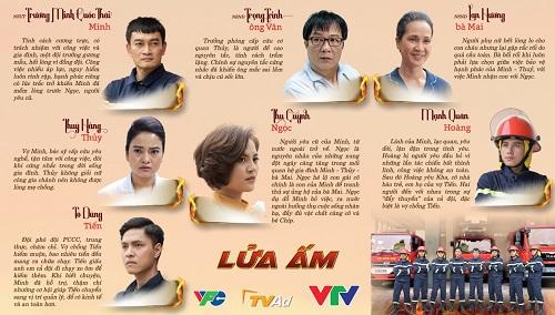 """Lửa ấm: Bộ phim Việt Nam đầu tiên """"đặc tả"""" về lính cứu hỏa lên sóng - Ảnh 2"""