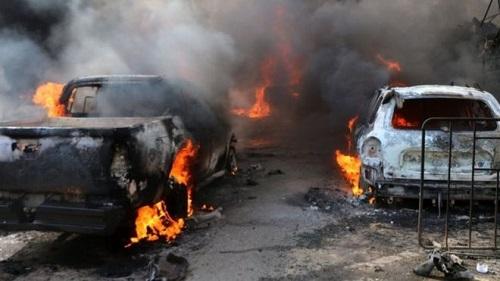 """Tình hình chiến sự Syria mới nhất ngày 27/9: Thiết giáp Nga tan tành vì bị """"đánh úp"""" ở Syria - Ảnh 2"""