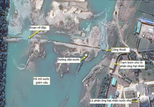Vỡ đập gần khu phức hợp hạt nhân của Triều Tiên - Ảnh 1