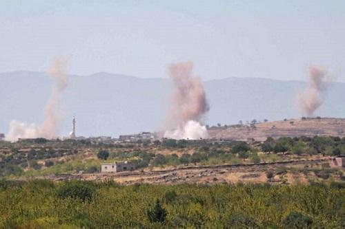 Tình hình chiến sự Syria mới nhất ngày 28/9: UAV của khủng bố tấn công ác liệt quân đội Syria - Ảnh 1