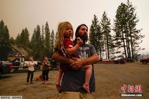 Chùm ảnh: Thảm họa cháy rừng ở California, diện tích rừng bị phá hủy bằng 10 thành phố New York - Ảnh 4