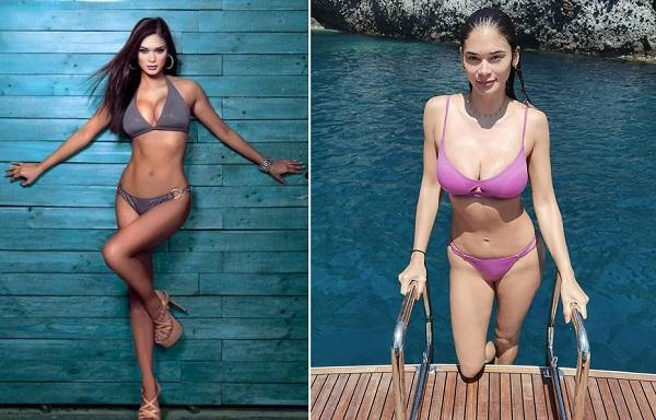 Hoa hậu Philippines đốt cháy mạng xã hội với ảnh diện bikini khoe vòng 1 căng tràn bốc lửa - Ảnh 7