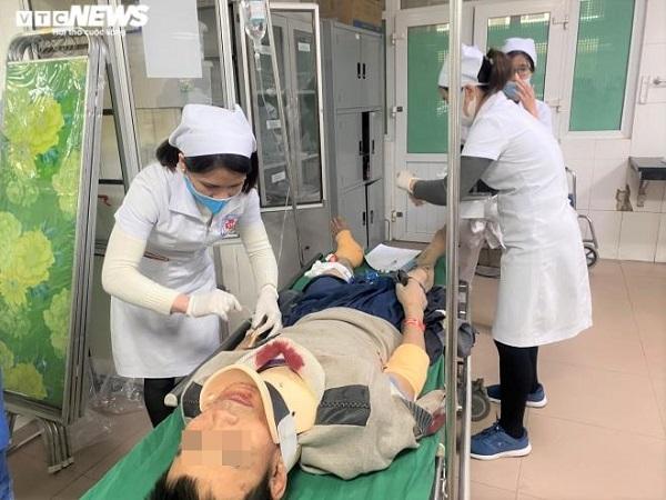 Tình hình sức khỏe các nạn nhân trong vụ rơi thang máy 11 người thương vong ở Nghệ An - Ảnh 3