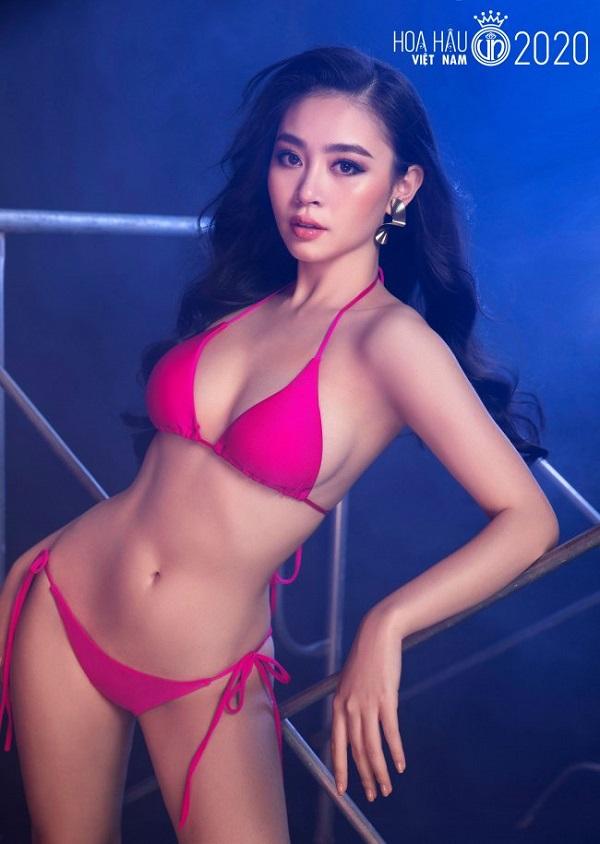 """Vẻ đẹp sang chảnh, nóng bỏng của thí sinh Hoa hậu Việt Nam vừa mới gia nhập """"vũ trụ mỹ nhân"""" đài VTV - Ảnh 2"""