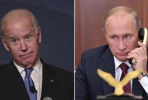 Tổng thống Biden lần đầu điện đàm với người đồng cấp Putin - Ảnh 1