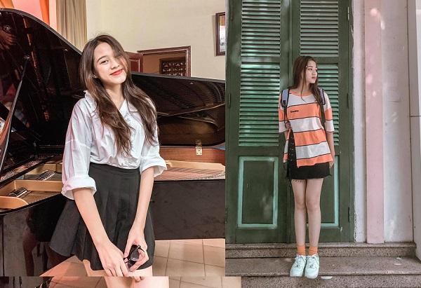 """Lần đầu xách hàng hiệu xuống phố, Hoa hậu Đỗ Thị Hà """"dìm"""" chiếc túi Gucci không thương tiếc - Ảnh 3"""