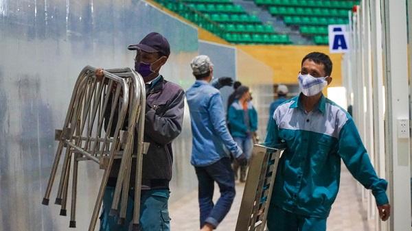 Đà Nẵng tháo dỡ bệnh viện dã chiến Tiên Sơn để chi viện cho Hải Dương - Ảnh 2