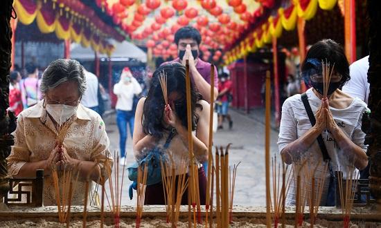 Hình ảnh các nước châu Á đón Tết Tân Sửu giữa bối cảnh đại dịch hoành hành - Ảnh 1