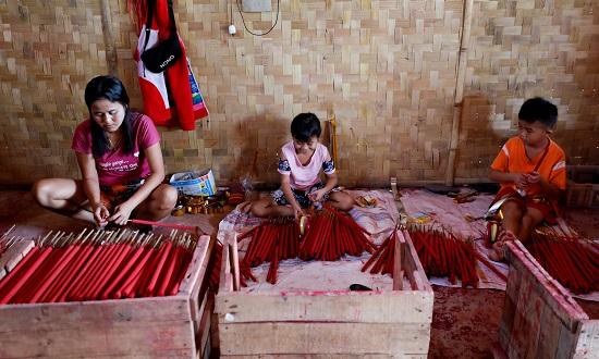 Hình ảnh các nước châu Á đón Tết Tân Sửu giữa bối cảnh đại dịch hoành hành - Ảnh 7