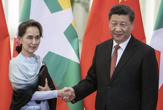 """Trung Quốc bác cáo buộc """"bật đèn xanh"""" cho đảo chính ở Myanmar - Ảnh 2"""