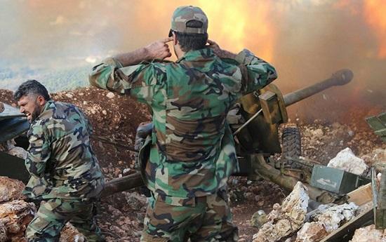 Tình hình chiến sự Syria mới nhất ngày 13/3: Quân đội Syria đụng độ ác liệt với IS - Ảnh 1