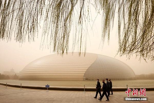 """Chùm ảnh: Trận bão cát lớn nhất thập kỷ """"tấn công"""" Trung Quốc - Ảnh 3"""
