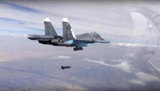 Tình hình chiến sự Syria mới nhất ngày 16/3: Nga dùng bom phản lực không kích phiến quân HTS - Ảnh 1