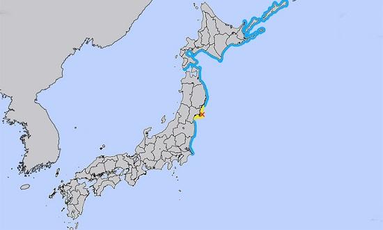 Động đất 7,2 độ richter rung chuyển Nhật Bản - Ảnh 1