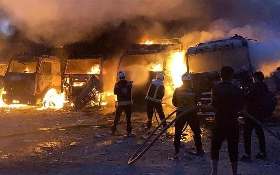 Tình hình chiến sự Syria mới nhất ngày 22/3: Nga lại xả tên lửa vào phiến quân làm cả dân thường thiệt mạng - Ảnh 1