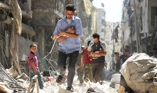 Tình hình chiến sự Syria mới nhất ngày 31/3: Nga tăng cường quân sự, không kích trụ sở phiến quân - Ảnh 3