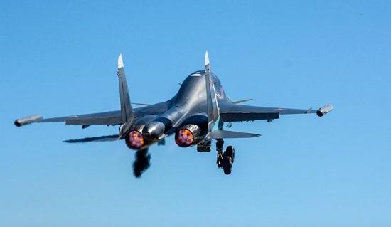 """Tình hình chiến sự Syria mới nhất ngày 1/4: Su-34 Nga """"trút giận"""" lên phiến quân thân Thổ Nhĩ Kỳ - Ảnh 1"""