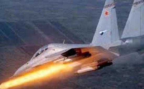 Tình hình chiến sự Syria mới nhất ngày 13/4: Nga không kích hang ổ khủng bố IS ở tam giác sa mạc - Ảnh 1