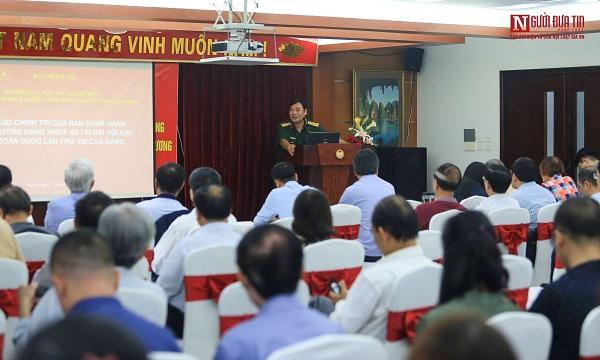 Hội Luật gia Việt Nam tổ chức Nghiên cứu, học tập, quán triệt Nghị quyết Đại hội XIII của Đảng - Ảnh 3