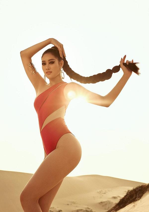 Hoa hậu Khánh Vân tung ảnh diện bikini đọ sức nóng với ánh mặt trời ngay trước thềm Miss Universe - Ảnh 4