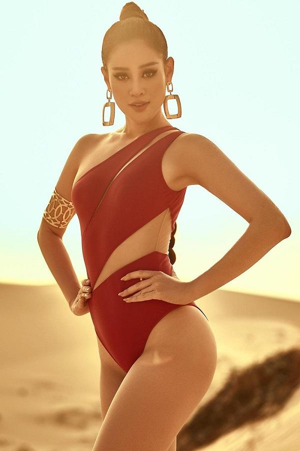 Hoa hậu Khánh Vân tung ảnh diện bikini đọ sức nóng với ánh mặt trời ngay trước thềm Miss Universe - Ảnh 7