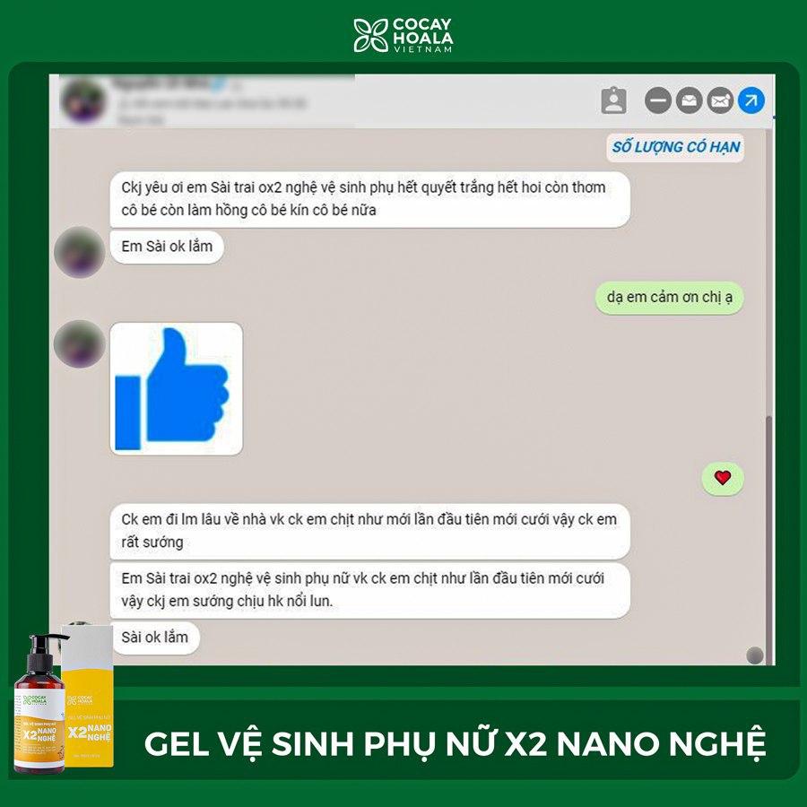 Nỗi lo ngại của chị em phụ nữ, thử ngay dung dịch vệ sinh phụ nữ Gel X2 Nano Nghệ - Ảnh 4