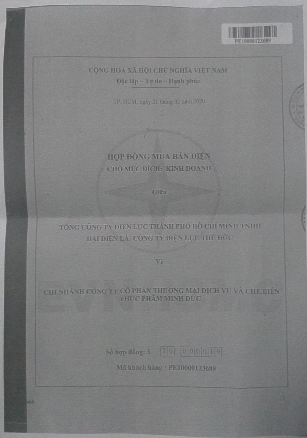 TP. HCM:  Công ty Minh Đức khởi kiện Điện lực Thủ Đức ra tòa vì đơn phương ngừng cấp điện - Ảnh 3