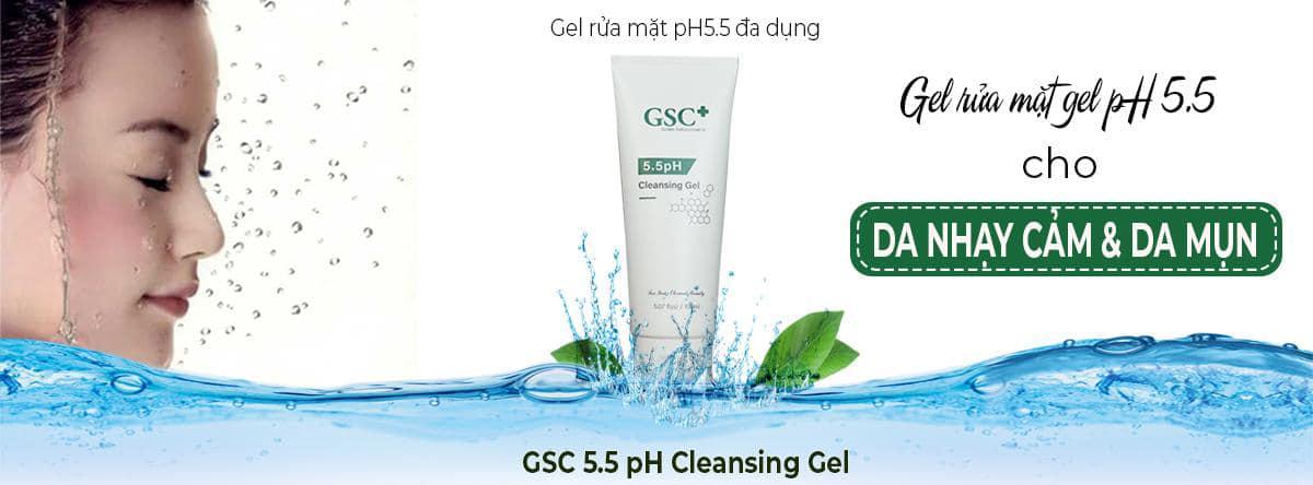 GSC+ ra mắt sản phẩm mới: Sữa rửa mặt dành cho da nhạy cảm 5.5 PH - Ảnh 1