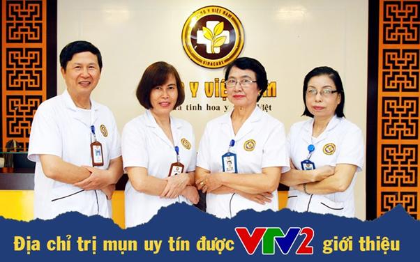 Trung tâm Da liễu Đông y Việt Nam trị mụn được VTV2 giới thiệu - Ảnh 1