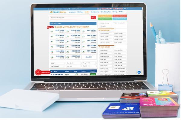 Thủ thuật chọn số đẹp giá rẻ khi mua sim online - Ảnh 1