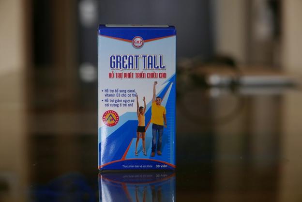 Viên uống tăng chiều cao GREAT TALL được sản xuất trên dây chuyền đạt chuẩn GMP của WHO - Ảnh 2