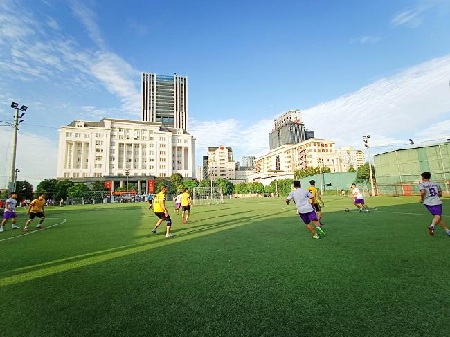 Giao hữu bóng đá giữa FC Đời sống & Pháp luật và Đại đội 1 - Tiểu đoàn Cảnh sát đặc nhiệm Hà Nội - Ảnh 20