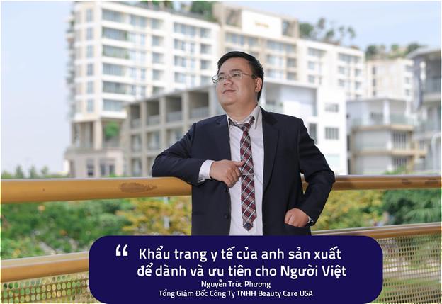 """CEO Nguyễn Trúc Phương """"Khẩu trang y tế ưu tiên dành cho người Việt"""" - Ảnh 3"""