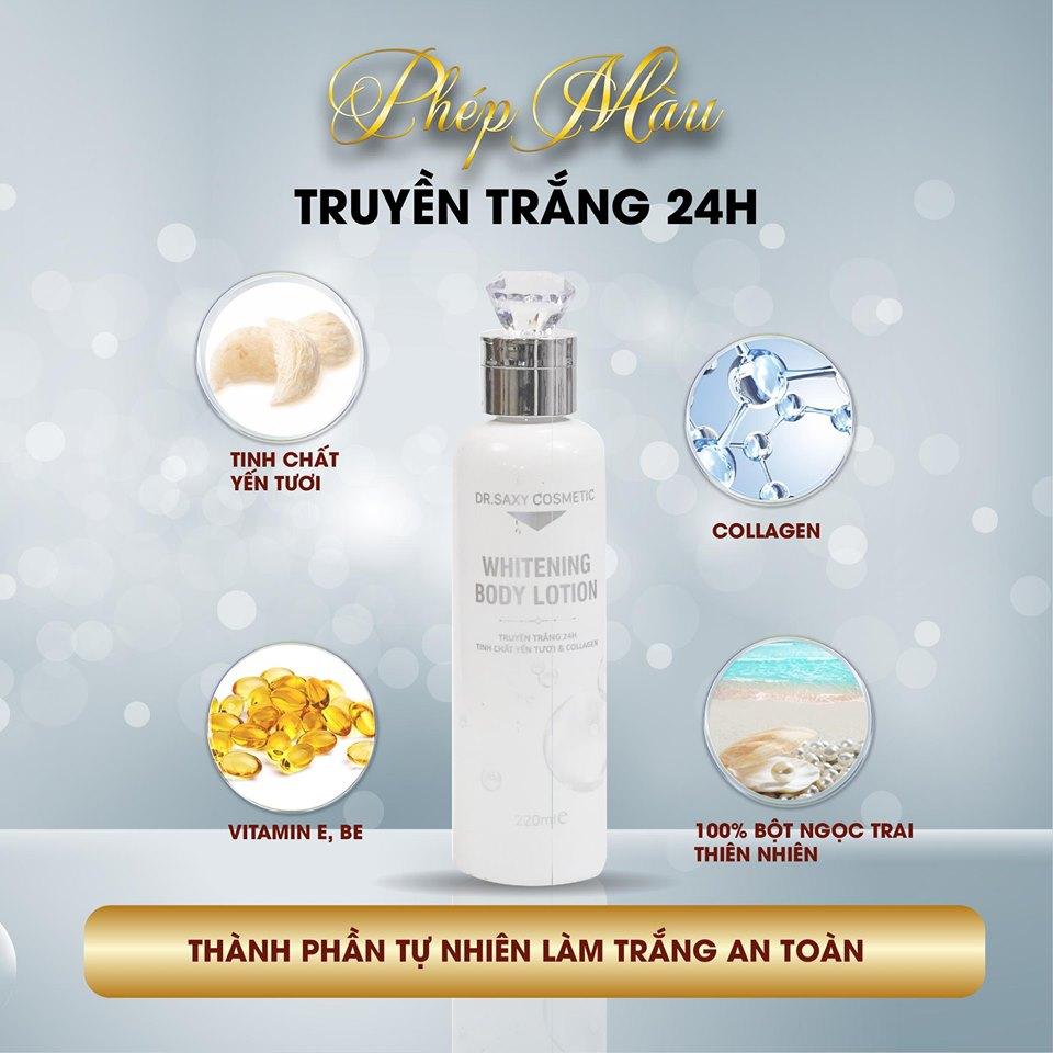 Whitening body lotion – Dưỡng trắng cơ thể tự nhiên - Ảnh 3