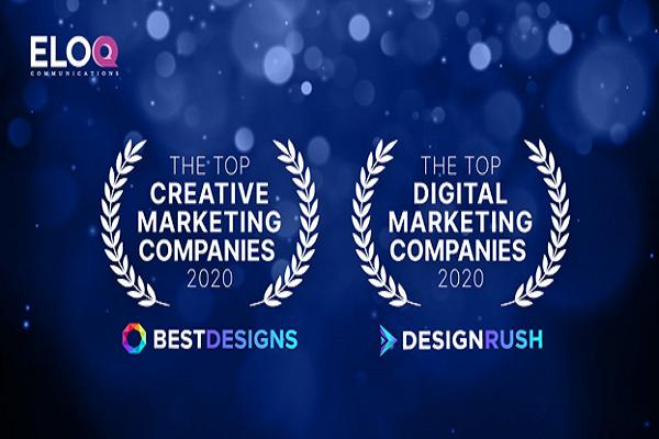 EloQ Communications được công nhận là một trong những agency hàng đầu của năm 2020 bởi BestDesigns.co và DesignRush - Ảnh 1