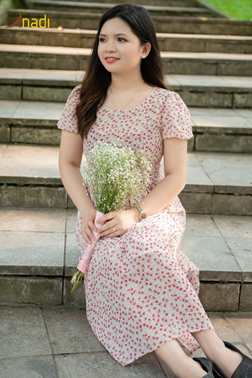 Người phụ nữ xinh đẹp, tài năng trong kinh doanh thời trang của tỉnh Cao Bằng - Ảnh 2