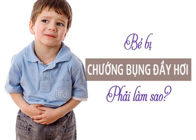 Cách chữa chướng bụng đầy hơi ở trẻ đơn giản mà hiệu quả - Ảnh 1