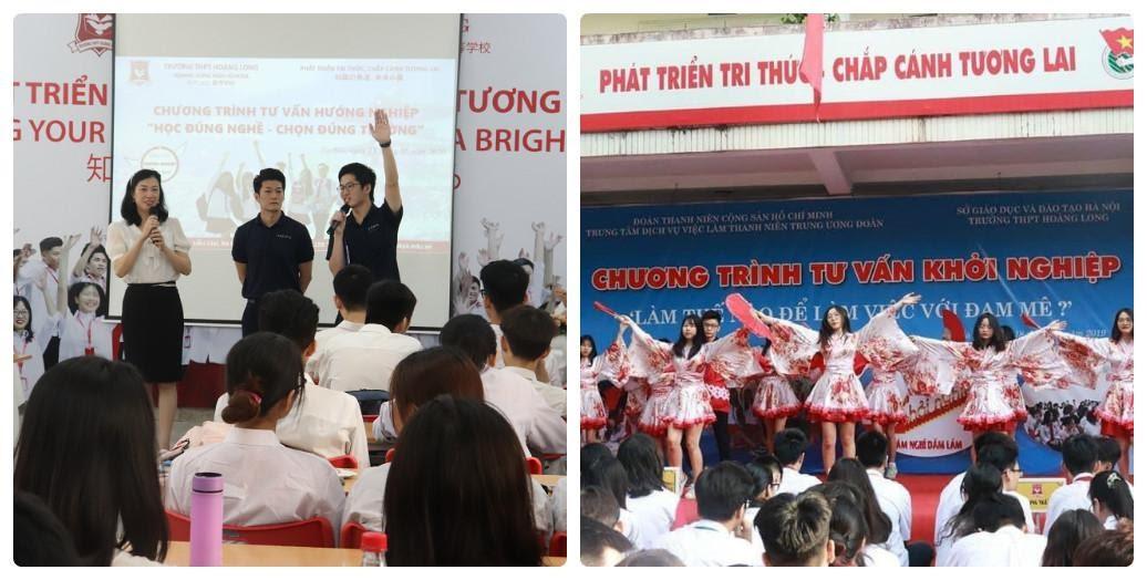 Chương trình hoạt động ngoại khoá của nhà trường THPT Hoàng Long – Hanoi Tokyo - Ảnh 1