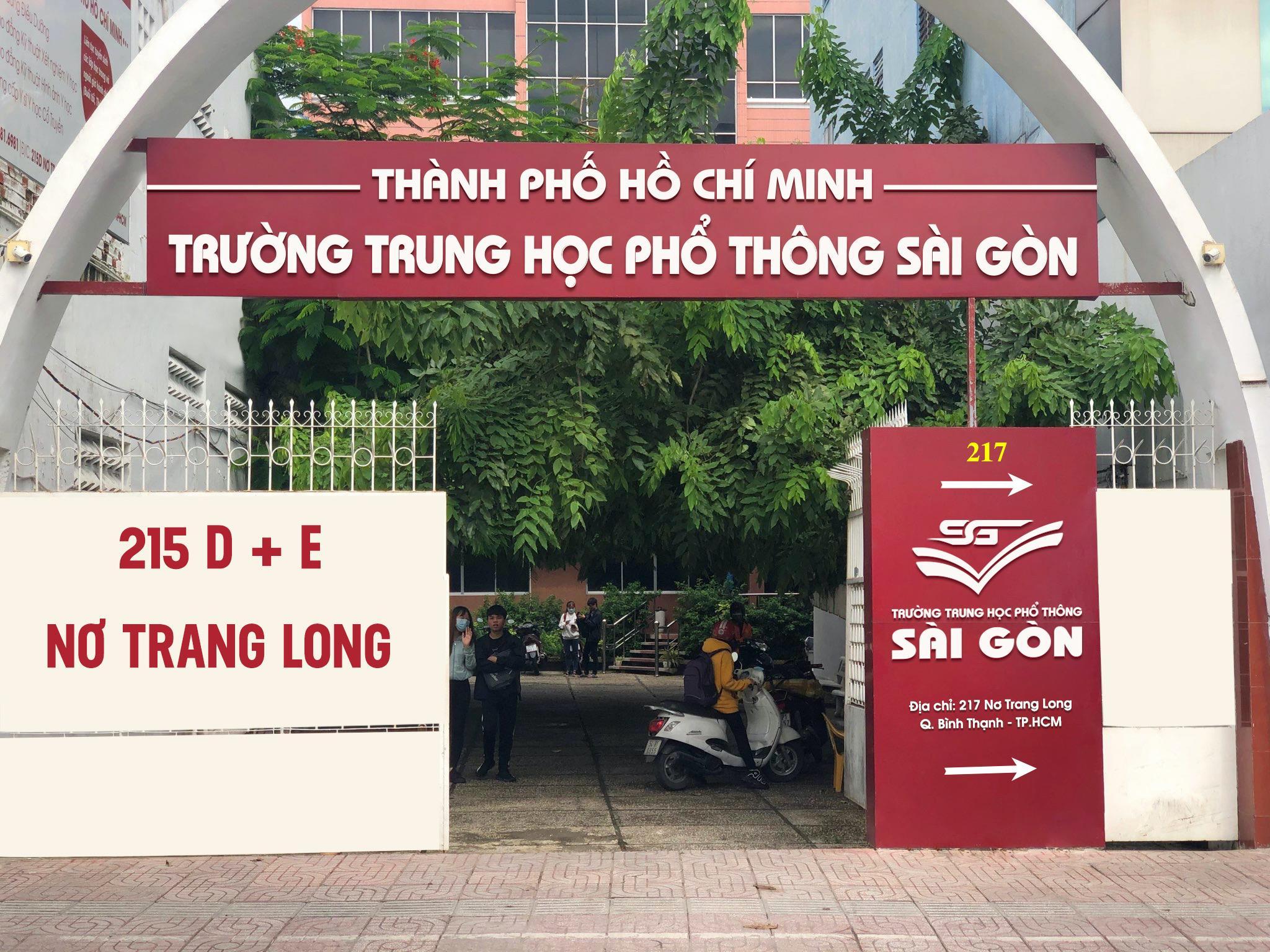 Trường THPT Sài Gòn thành phố Hồ Chí Minh thông báo tuyển sinh lớp 10 - Ảnh 1