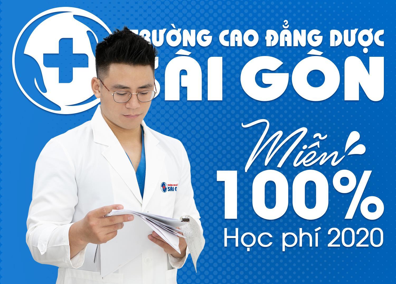 Trường Cao đẳng Dược Sài Gòn miễn 100% học phí ngành y dược năm học 2020 - Ảnh 1