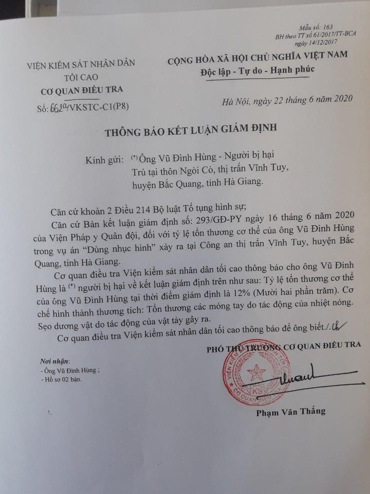 Vĩnh Tuy (Bắc Quang – Hà Giang): Cần làm rõ hành vi đánh đập dã man công dân với lý do sai sót nghiệp vụ? - Ảnh 3