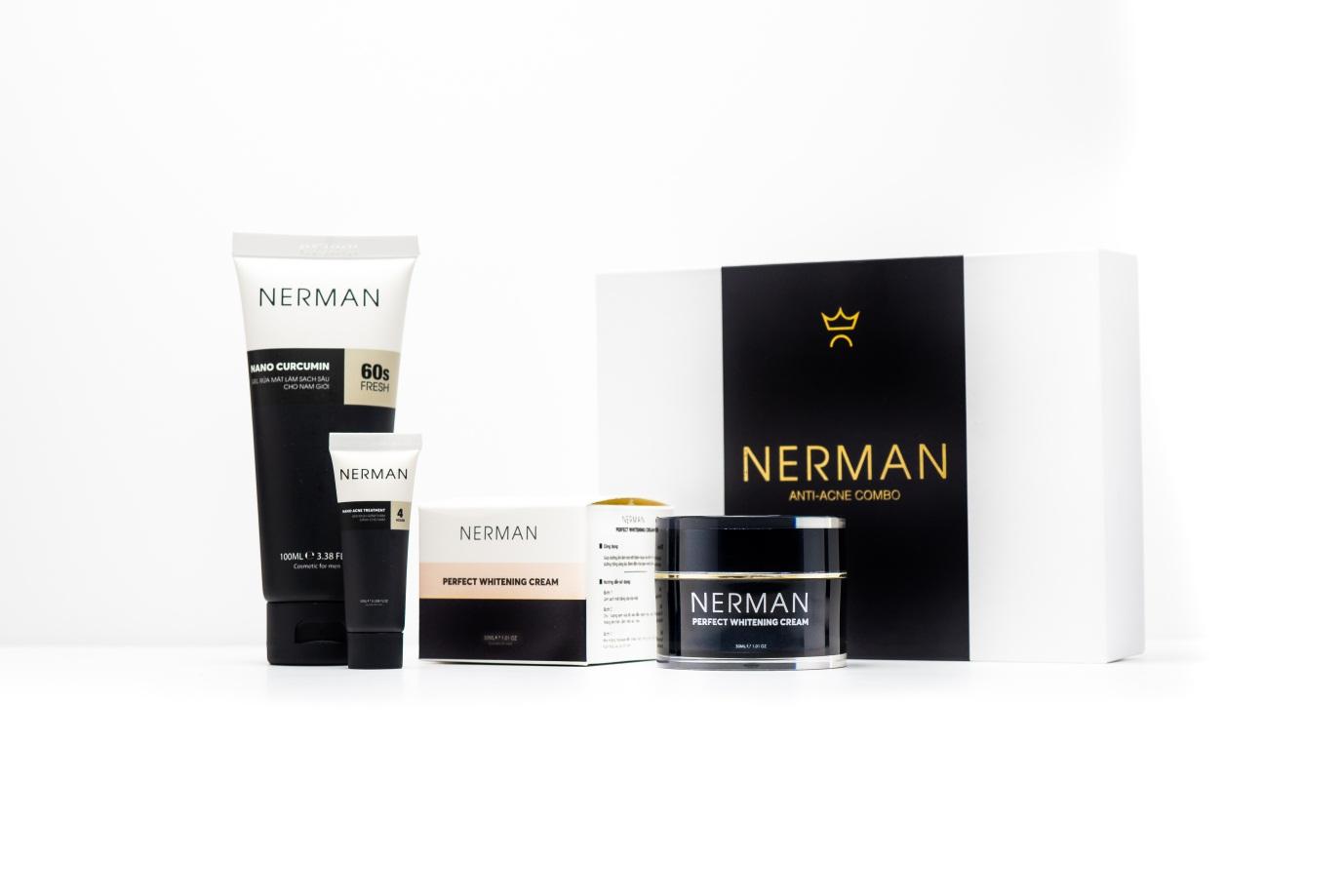 Nerman – Vũ khí diệt mụn cho phái mạnh - Ảnh 5