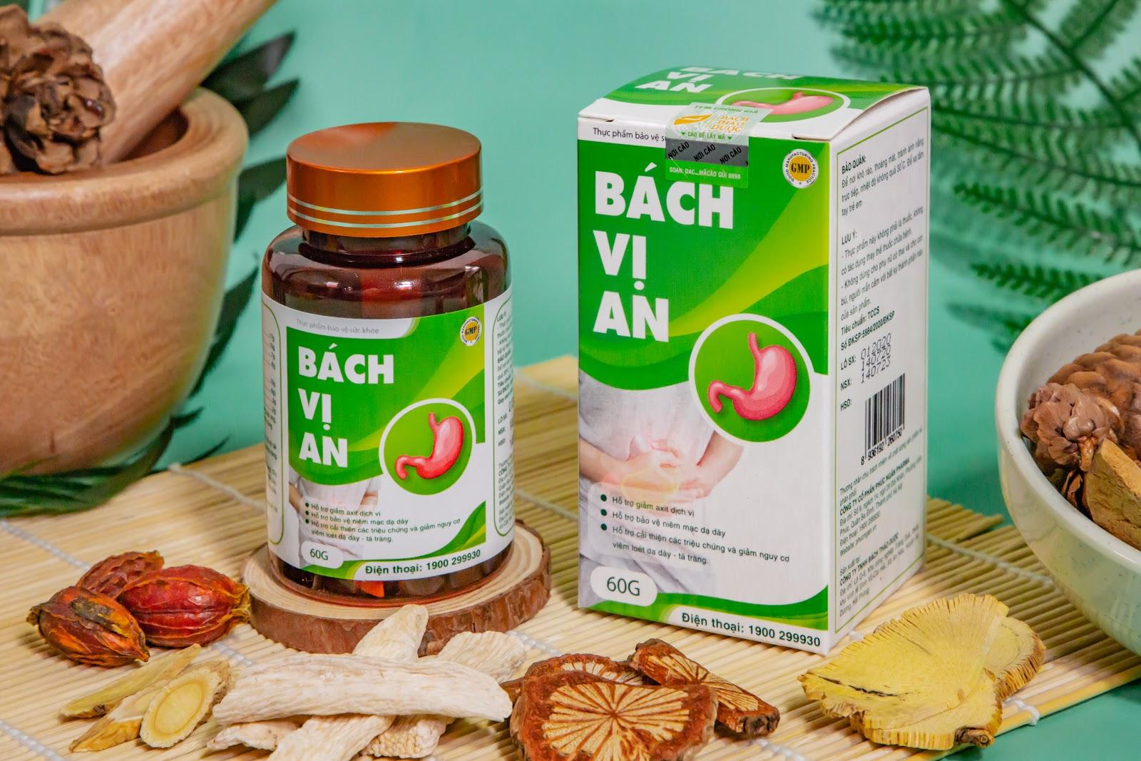 Công thức vượt trội trong Bách Vị An hỗ trợ cải thiện viêm loét dạ dày - Ảnh 1